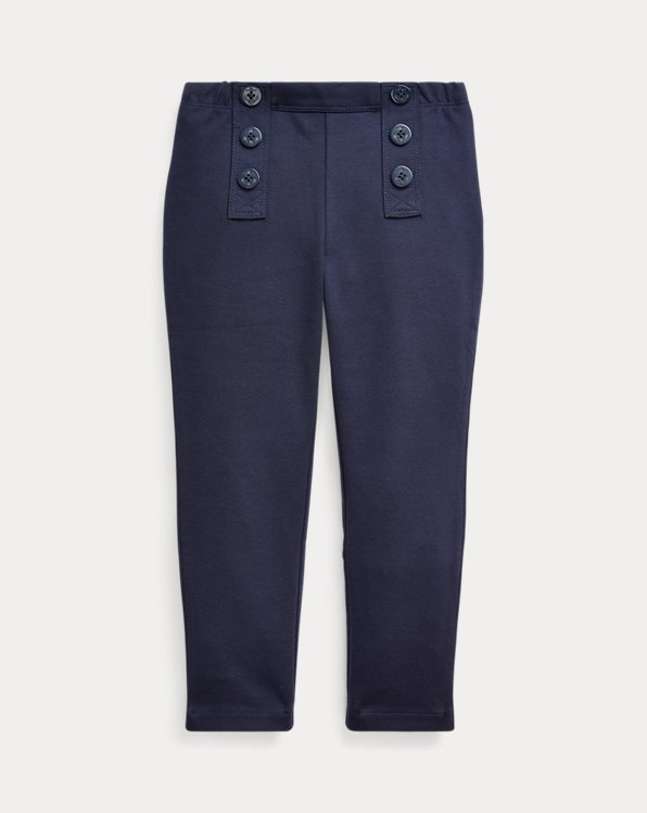 Nautical Stretch Ponte Trouser