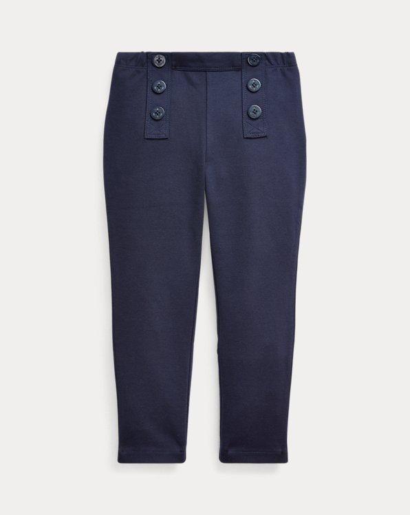 Pantalon en jersey ponte stretch nautique