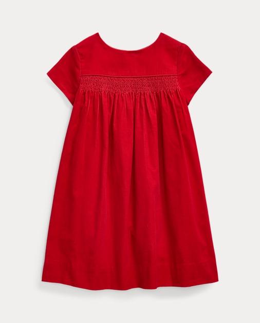buy popular de41f 55871 Smocked Cotton Corduroy Dress
