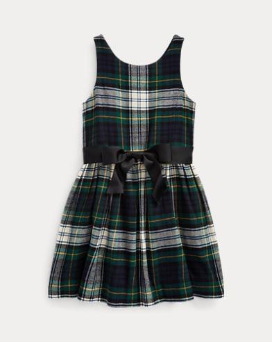 Tartan Cotton Twill Dress