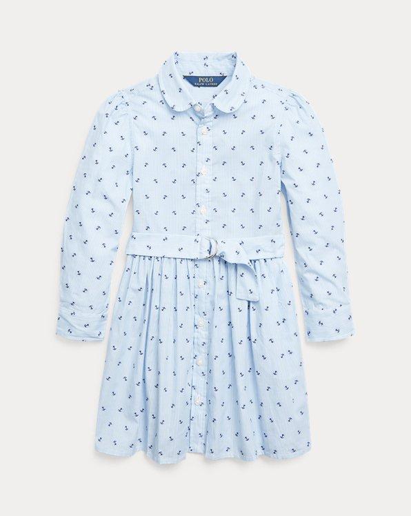 Anchor Cotton Shirtdress