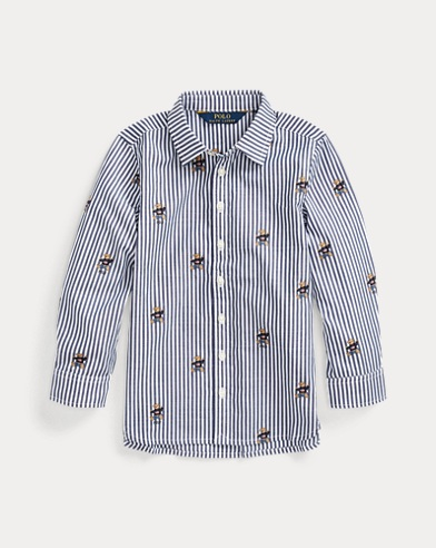 Jumper Bear Cotton Shirt