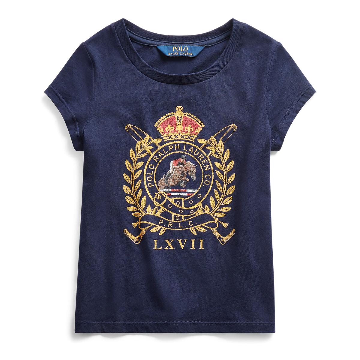 promo code 03825 5e57c Baumwoll-T-Shirt mit Pferd und Wappen