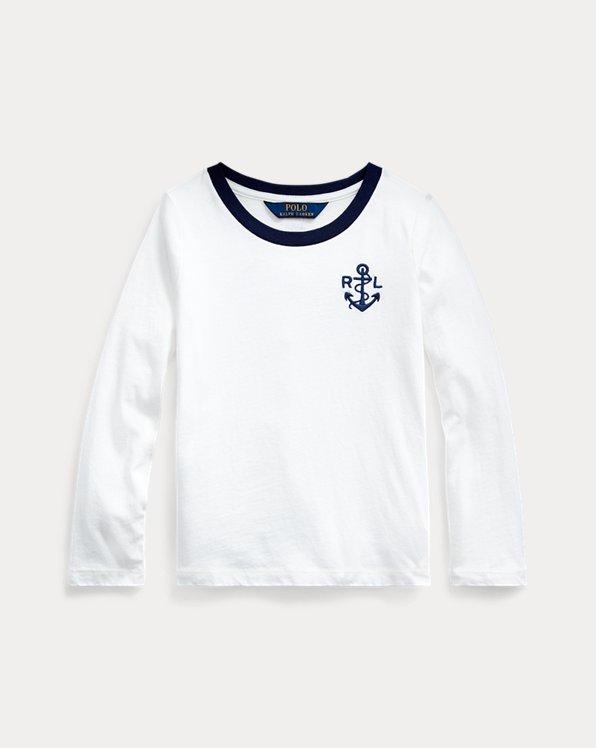 Camiseta de punto jersey con sirena