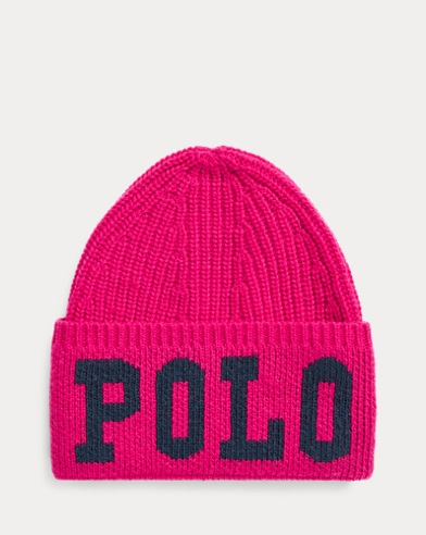Polo Intarsia Wool-Blend Hat