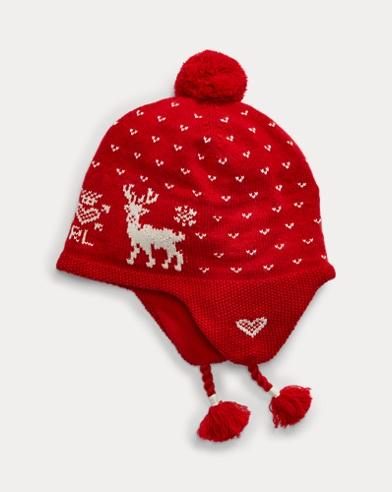 Intarsia-Knit Wool-Blend Hat