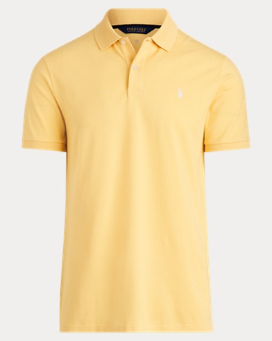 Custom Slim Fit Stretch Polo