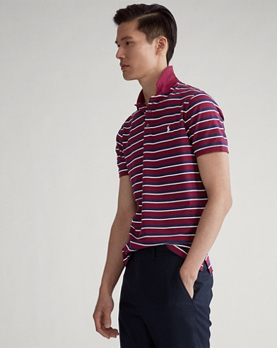 Polo stretch Custom Slim-Fit
