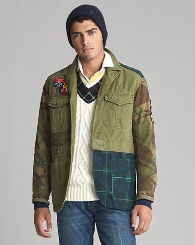 Patchwork Canvas Jacket