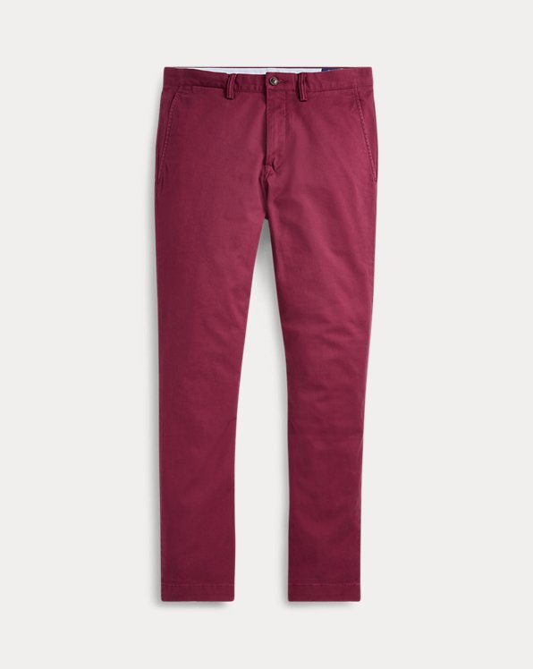 Stretch Straight Fit Chino Pant