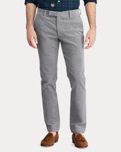 Pantalon Lauren Pantalon Polo Toile Ralph Toile 5A4R3Lj