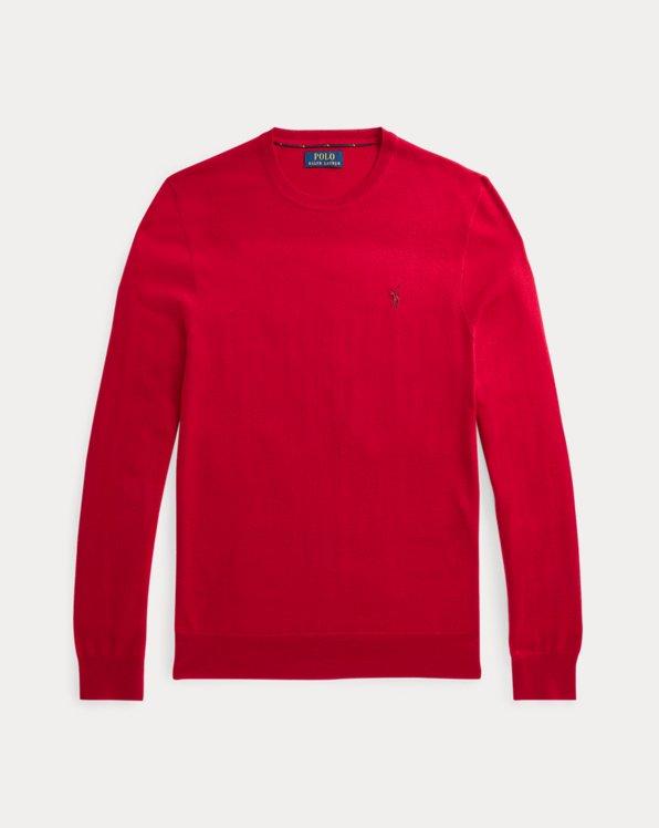 Slim Fit Washable Wool Jumper