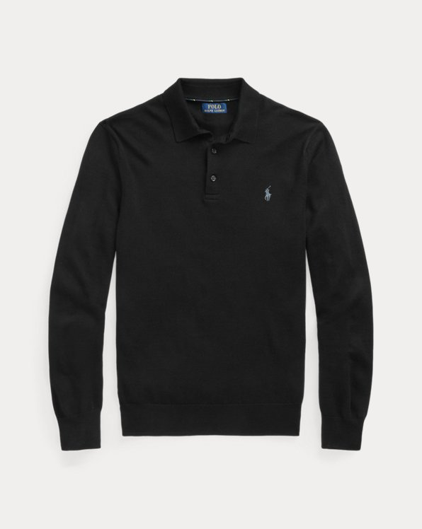 Washable Merino Polo Jumper