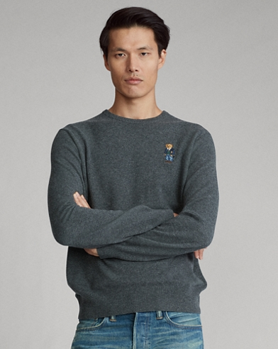 Polo Bear Merino Wool Jumper