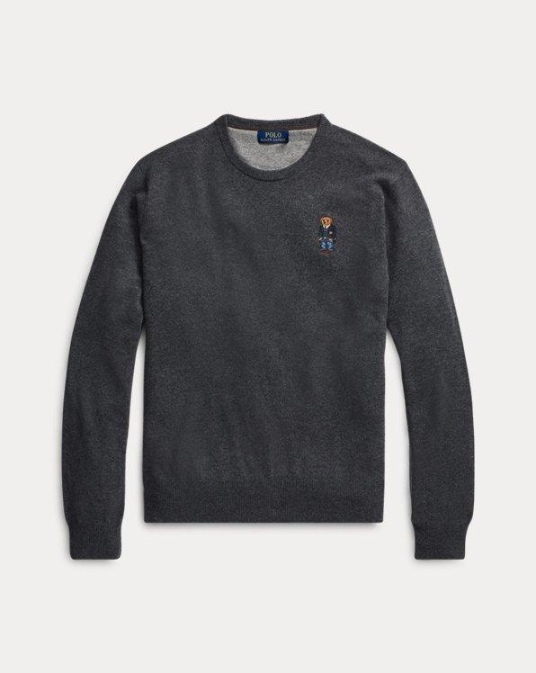 Polo Bear Merino Wool Jumper
