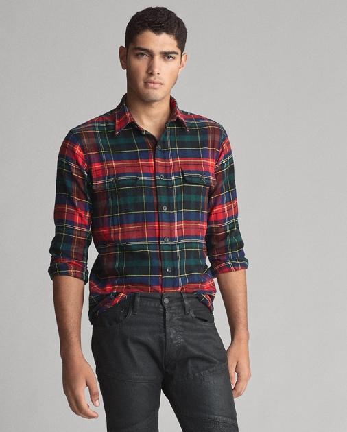 Polo Ralph Lauren Classic Fit Plaid Twill Shirt 1