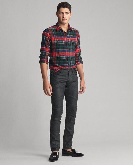 Polo Ralph Lauren Classic Fit Plaid Twill Shirt 3