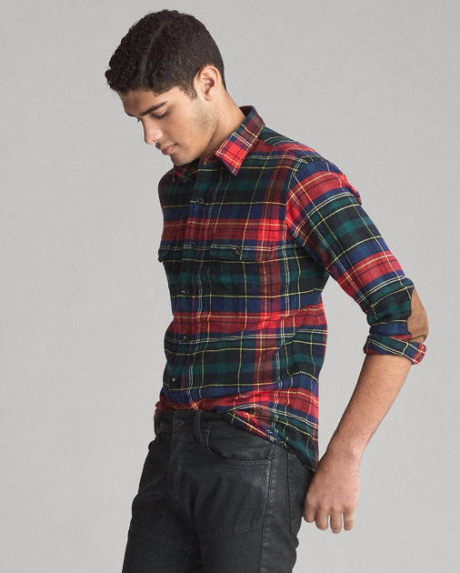 Polo Ralph Lauren Classic Fit Plaid Twill Shirt 4