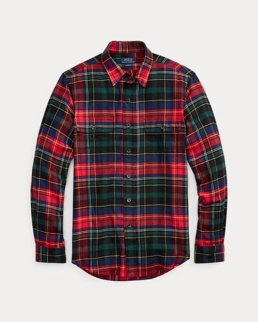 Polo Ralph Lauren Classic Fit Plaid Twill Shirt 2