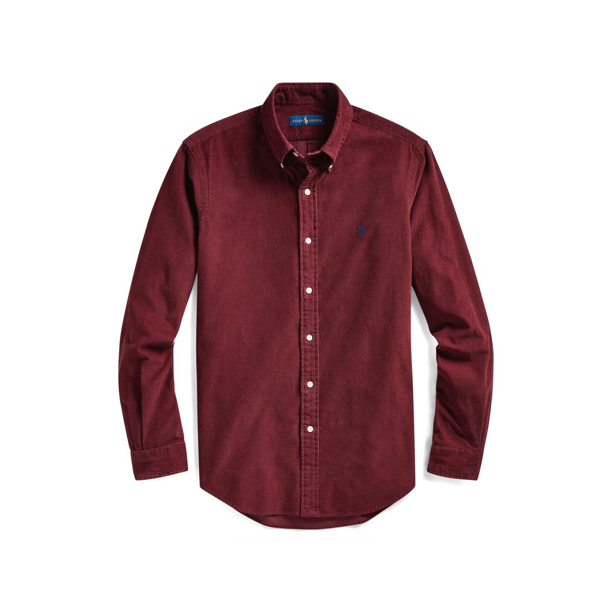Custom Fit Corduroy Shirt