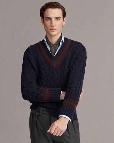 Cashmere Cricket Jumper