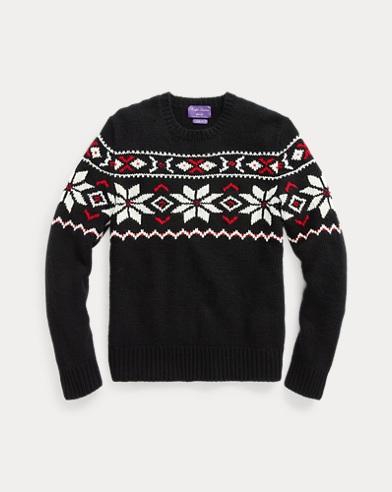 RLX Hand-Knit Cashmere Sweater