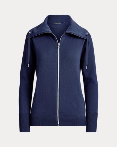 Golf-Pullover mit Reißverschluss
