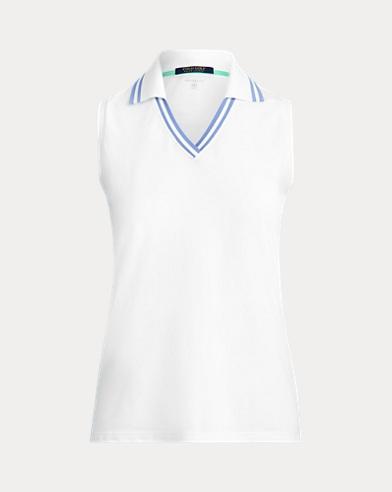 Sleeveless Cricket Golf Polo