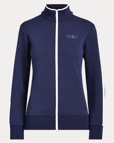 Double-Knit Golf Track Jacket