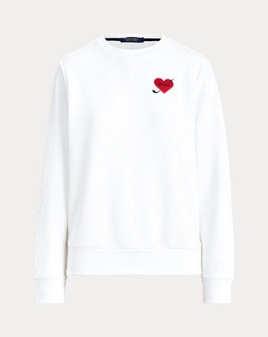 Piqué Crewneck Golf Sweatshirt