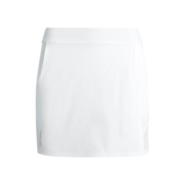 폴로 랄프로렌 Polo Ralph Lauren Stretch Golf Skort,Pure White