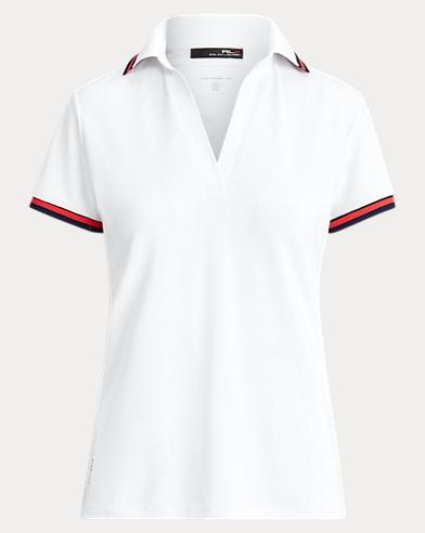 Piqué Short-Sleeve Golf Shirt