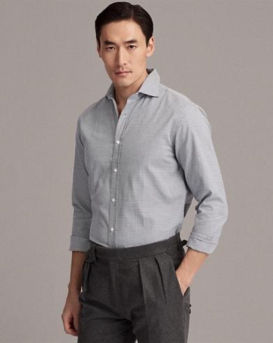Keaton Houndstooth Shirt