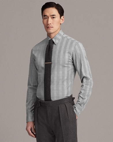 Keaton Plaid Stretch Shirt