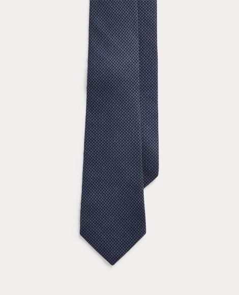 Print Cashmere-Silk Tie