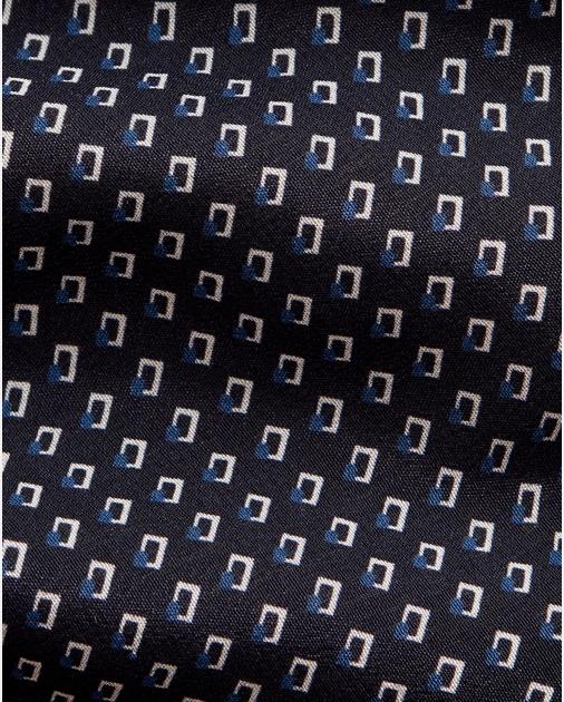 Purple Label Square-Print Silk Tie 3