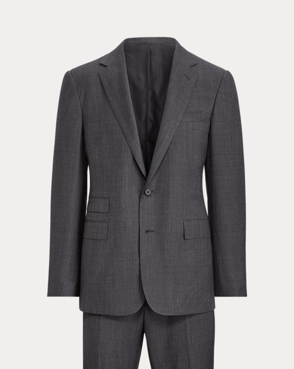 Handmade Wool Sharkskin Suit