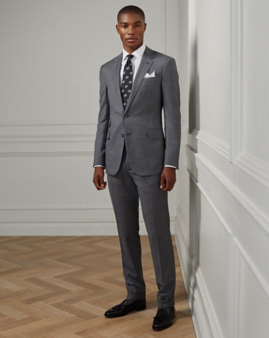 Gregory Sharkskin Suit