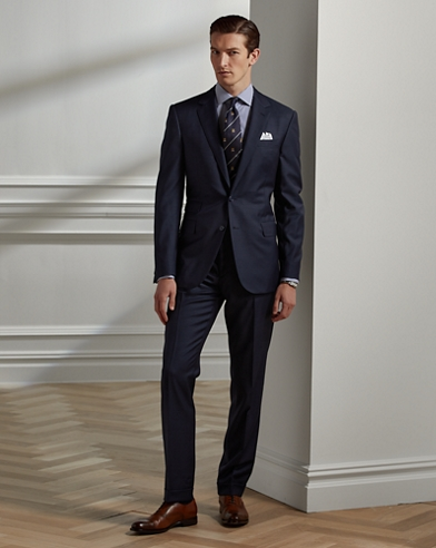 Gregory Sharkskin Suit