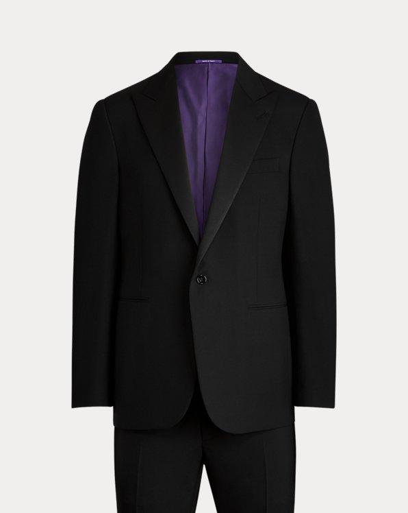Gregory Wool Peak-Lapel Tuxedo