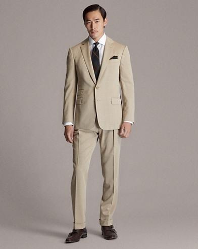 Wool Covert Suit