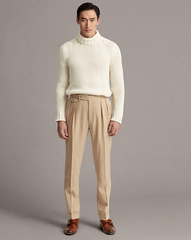 Gregory Wool Gabardine Trouser