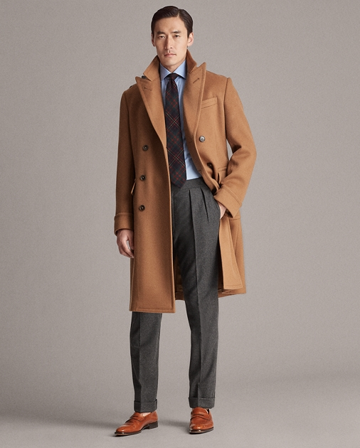 Purple Label Double-Faced Cashmere Topcoat 1