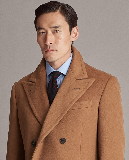 Purple Label Double-Faced Cashmere Topcoat 5