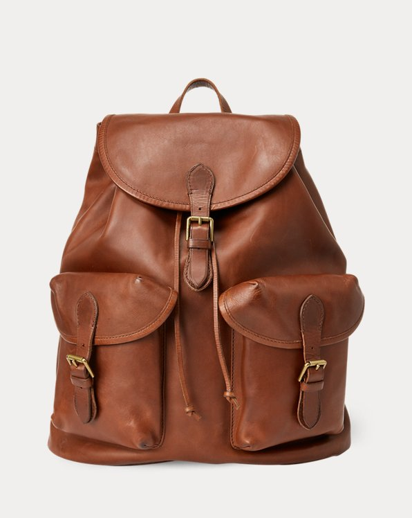 Traditioneller Lederrucksack