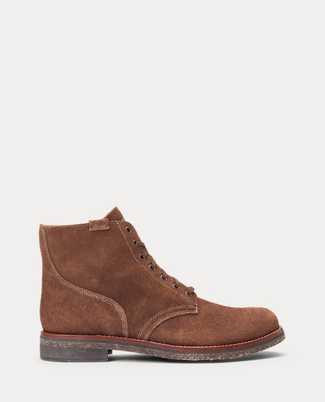 Suede Army Boot