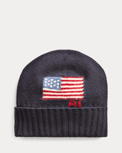 Flag Merino Wool-Blend Hat