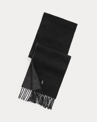 Reversible Wool-Blend Scarf