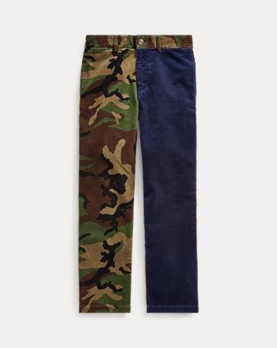 Pantaloni in velluto a coste stretch Slim-Fit