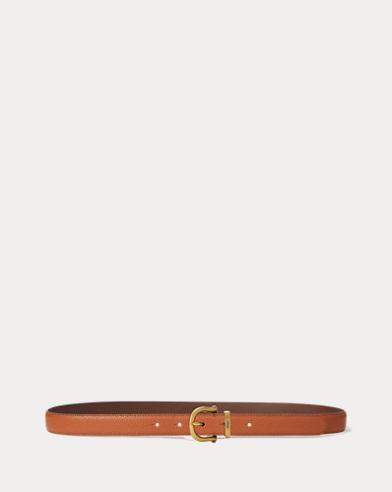 Cinturón de piel vachetta